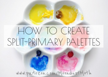 HOW TO CREATE SPLIT-PRIMARY PALETTES